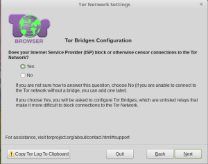 ISP block Tor Network